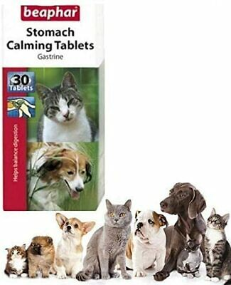 £6.99 • Buy Beaphar Stomach Calming Tablets Relief Gastrine Magnesium 30pc For Cat And Dog