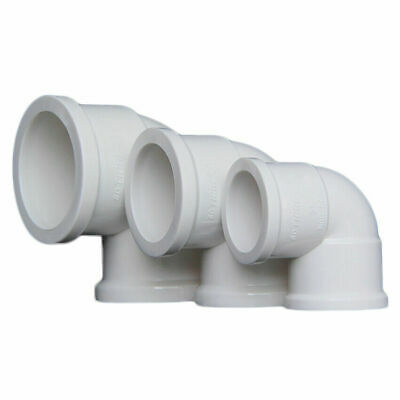 £2.29 • Buy PVC  Thickening Water Supply Pipe Elbow Fittings Adapter Connector 20mm-63mm ID