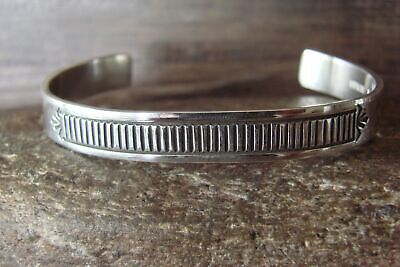 £70.21 • Buy Native American Jewelry Stamped Sterling Silver Bracelet By Morgan