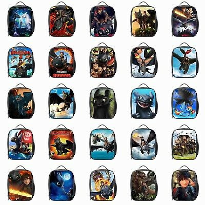 £7.99 • Buy How To Train Your Dragon Lunch Bag Insulated Lunch Box Food Cooler Storage Case