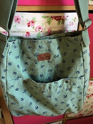 £15.50 • Buy Fat Face Large Cross Body Boho Bag Green And Excellent Condition