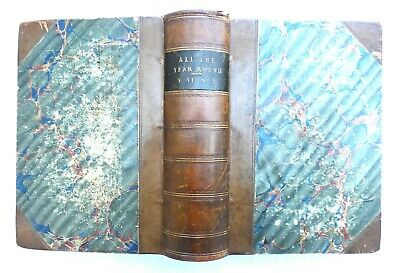 £9.99 • Buy All The Year Round. Weekly Journal Charles Dickens 1870 - 1871. 2 Volumes In One