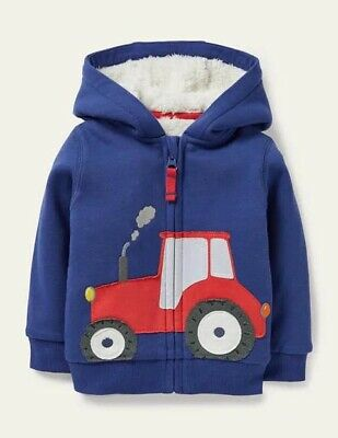 £35.99 • Buy Boden Boys Shaggy-lined Appligue Hoodie Ade 3-4 Yrs