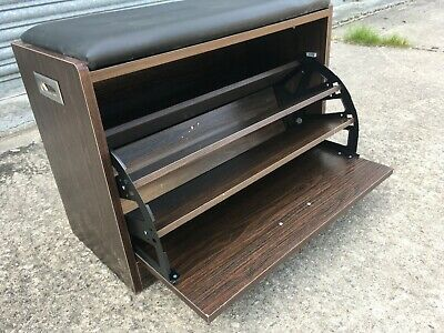 £20 • Buy Three Tier Shoe Storage Bench With Removable Cushioned Seat.