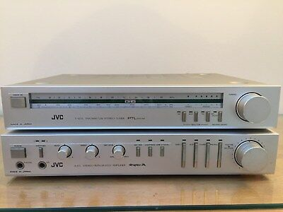 £55 • Buy JVC A-E5 Integrated Amplifier With Matching T-E5 Tuner