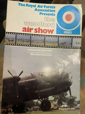 £0.99 • Buy Woodford Airshow 1980 Programme