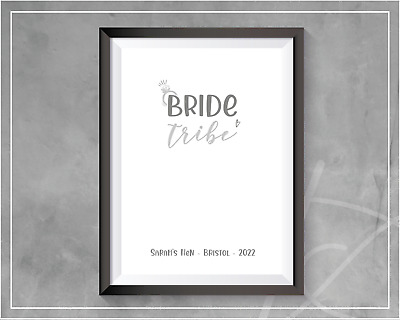 £3.99 • Buy Kiss The Miss Goodbye | BRIDE TRIBE | Hen Party Keepsake Games | 2021 Hen Party