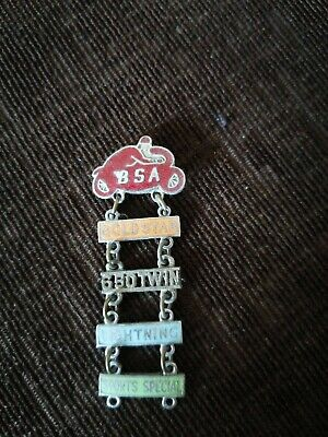 £12.50 • Buy Rare Vintage Collectable Bsa Motorcycle Jacket Pin Badge