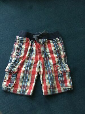 £2.50 • Buy Joules Boys Check Shorts Age 4