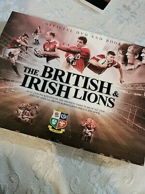 £6 • Buy The British & Irish Lions Official Dvd And Book