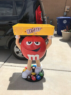 $355 • Buy Vtg M&M Red Character Candy Store Display With Storage Tray Pickup Only Abq NM