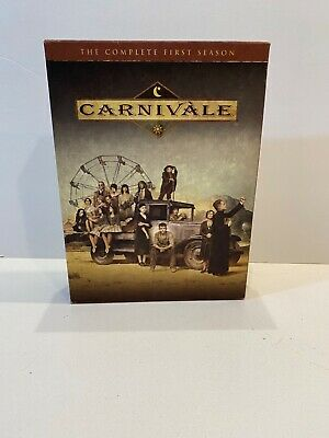 £2.82 • Buy Carnivale - The Complete First Season (DVD, 2004, 6-Disc Set)