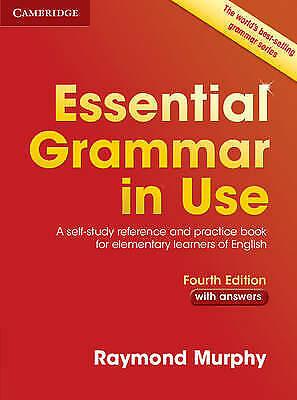 £14.95 • Buy Essential Grammar In Use With Answers: A Self-Study Reference And Practice Book