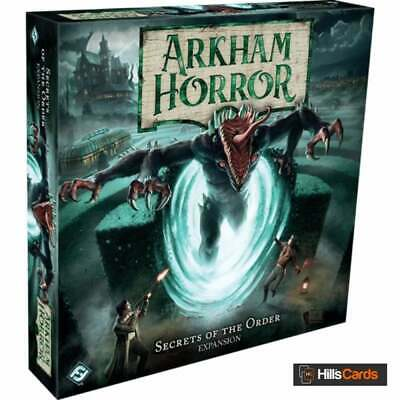 £35.95 • Buy Arkham Horror Third Edition Secrets Of The Order Expansion | New & Sealed AHB06