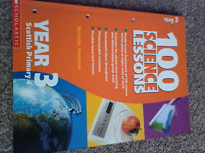 £1.99 • Buy 100 Science Lessons For Year 3: Year 3 By Malcolm Anderson (Paperback, 2001)