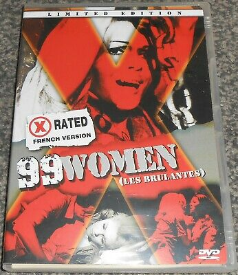 £16 • Buy 99 Women (Les Brulantes) - Blue Underground Limited Edition Uncut OOP R0 Dvd