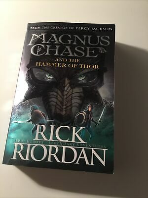 £4 • Buy Magnus Chase And The Hammer Of Thor (Book 2) New Paperback Book