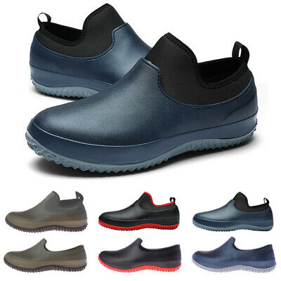 £22.89 • Buy Non-slip Chef Shoes Mens Womens Kitchen Safety Shoes Slip On Work Boots 2.5-14