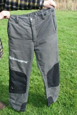 £50 • Buy Husqvarna Protective Robust Chainsaw Trousers