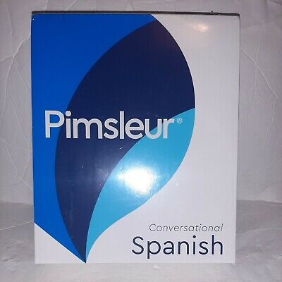 £21.23 • Buy Pimsleur Conversational Spanish Course Factory Sealed