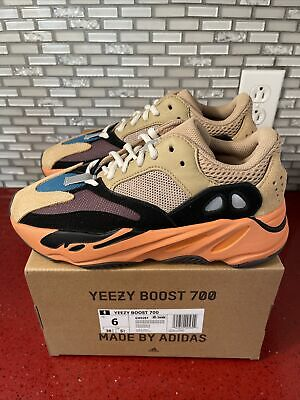 $ CDN414.14 • Buy Adidas Yeezy Boost 700 Enflame Amber Size 6 100% Authentic IN HAND