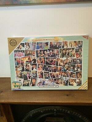 £19.99 • Buy Falcon Coronation Street 1000 Pieces Double Sided Jigsaw Puzzle *Brand New* Rare