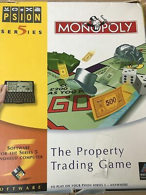 £5 • Buy Psion Monopoly For Series 5/7/netbook