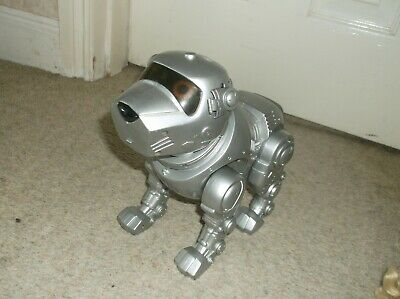 £7.59 • Buy Tekno Large Electronic Pet Puppy Dog In Silver By Manley Quest Fully Working