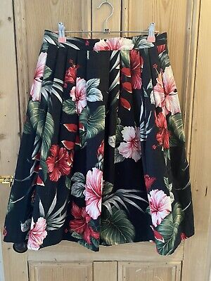 £10 • Buy Size 10 Vanity Project Skirt. 1950s/rockabilly/tropical