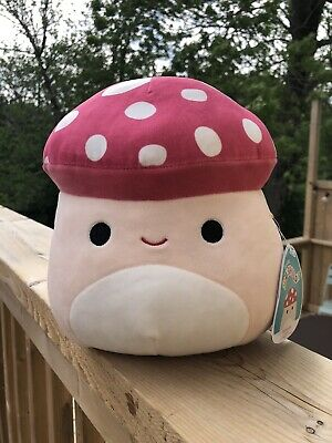 """$ CDN98 • Buy Malcolm Mushroom Squishmallow 8"""" Brand New With Tags NWT! RARE Hard To Find 🇨🇦"""