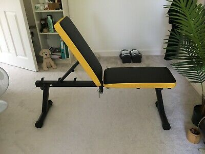 £25 • Buy Soges Folding Dumbbell Bench Height Adjustable Incline Exercise Bench RRP £89