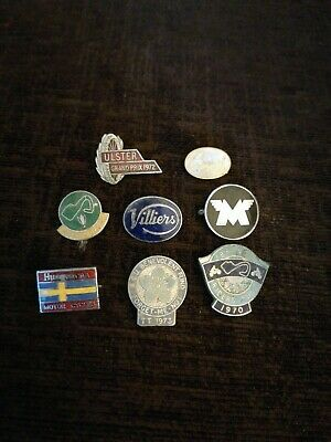 £5.50 • Buy Rare Vintage Classic Collectable Motorcycle Jacket Pin Badges Broken
