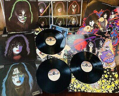 £46.73 • Buy Kiss - Lp - Promo - Ace Frehley - Paul Stanley - Peter Criss - All Complete!!
