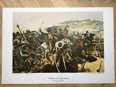 £15 • Buy Art Print 'Charge Of The Light Brigade' By Richard Caton Woodville