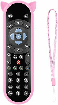 £6.99 • Buy For Sky Q Mini Remote Control Case Shockproof COVER With Wrist Strap -Glow Pink