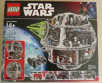 £355 • Buy LEGO Star Wars Death Star (10188) 100% Complete + Boxes + Manuals