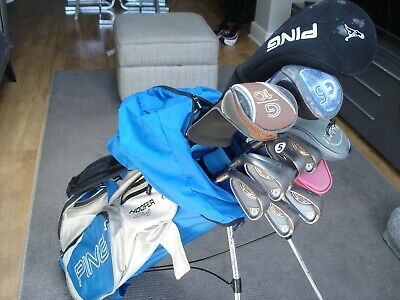 AU719.49 • Buy Left Handed Ping Golf Club Set + Extras