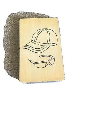 £3 • Buy Wooden Die Cap And Shades