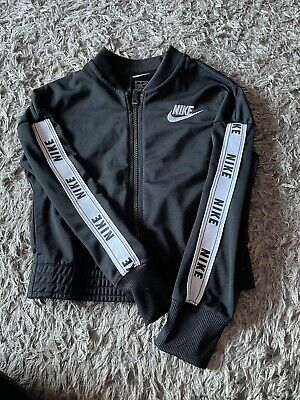 £0.99 • Buy Girls Nike Track Top Size Xs Age 7-8