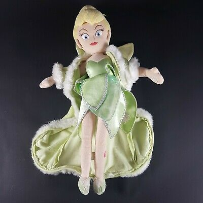 £11.99 • Buy TINKERBELL Disney Store Exclusive Plush Soft Toy Doll 20  DISNEY STAMP