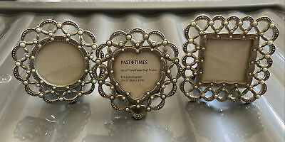 £2.30 • Buy Past Times Paisley Pearl Frames X3