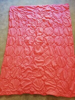 £6 • Buy IKEA PINK LIGHTWEIGHT DUVET Or QUILTED THROW 190 X 140cms Pre-Owned VGC