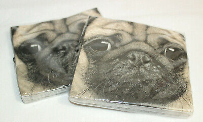 £4.98 • Buy 40 Pug Paper Napkins 3ply Ideal For Decoupage / Decopatch Craft  2 X Packs Of 20