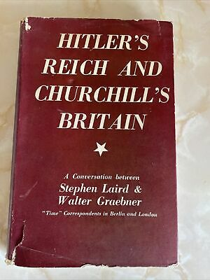 £45.95 • Buy Hitler's Reich And Churchill's Britain: A Conversation Between Laird AndGraebner