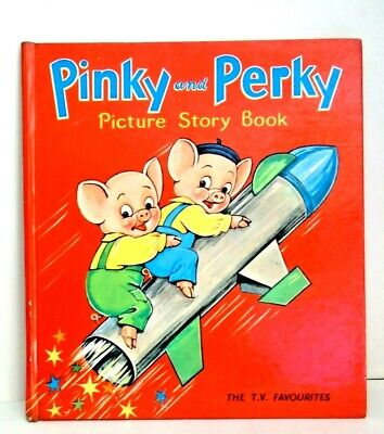 £4.50 • Buy Vintage Pinky And Perky Picture Story Hard Back Book - In Very Good Condition.
