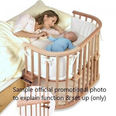 £5.99 • Buy BabyBay Original Sleeping Bedside Cot With Highchair Kit - Good Used Condition
