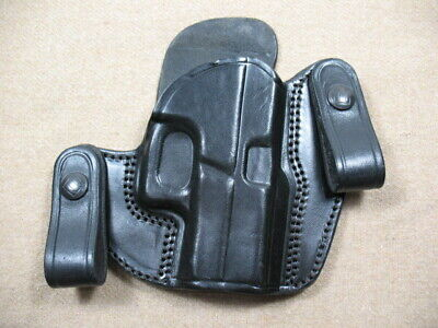 $20 • Buy Tagua Black Leather IWB Holster For Glock 42/43 & S&W M&P Shield
