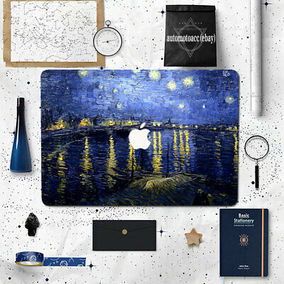 $21.99 • Buy Rhone Starry Night Scenery Case Cover For Macbook Pro Air 11 12 13 15 16 Inch M1