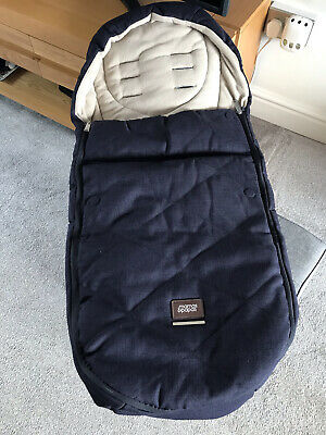 £40 • Buy Mamas And Papas Cold Weather Plus Footmuff - Cosytoes, Buggy Snuggle - Dark Navy