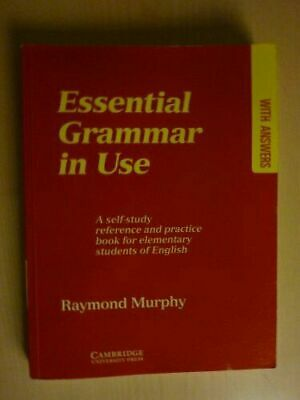 £8.70 • Buy Essential Grammar In Use : A Self-Study Reference And Practice Book For...